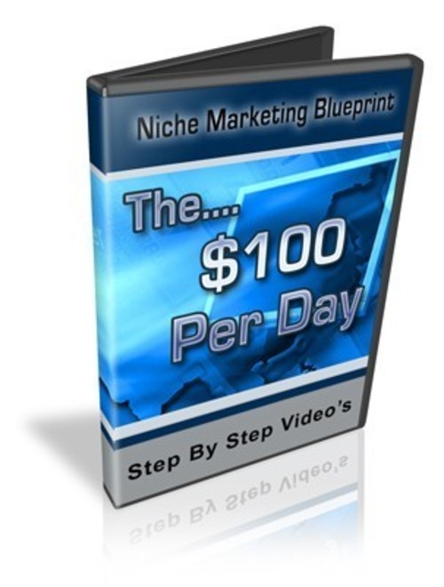 Product picture The $100 Per Day Niche Marketing Blueprint re-seller website